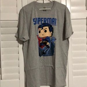 🆕 POP Tees Superman T-shirt size XL